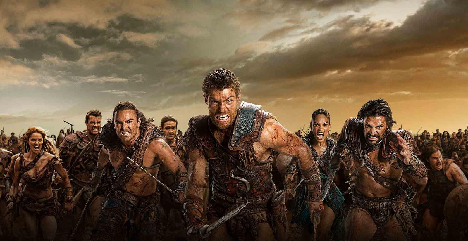 Spartacus biter, Da Vinci's Demons başlar 3