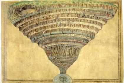 La Mappa dell'Inferno - Sandro Boticelli 2
