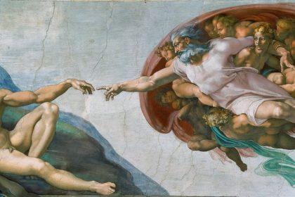 Michelangelo - Adem'in Yaratılışı 2